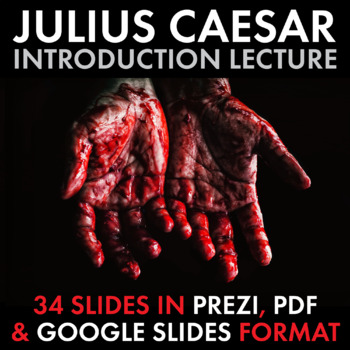 Tragedy of Julius Caesar, Dazzling Lecture to Launch Shakespeare's Play
