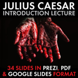 Tragedy of Julius Caesar, Dazzling Lecture to Launch Shake