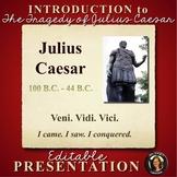 Julius Caesar Shakespeare PowerPoint