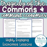 Tragedy of the Commons & Command Economies Lesson!