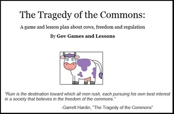 Tragedy of the Commons - environmental simulation/game
