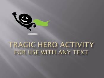 Tragic Hero Activity for Any Text