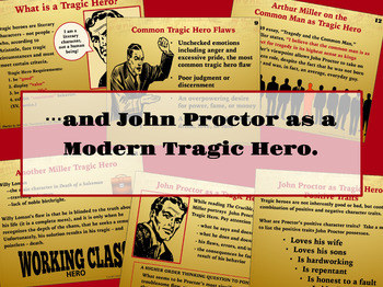 the crucible tragic hero john proctor by secondary strategies tpt the crucible tragic hero john proctor