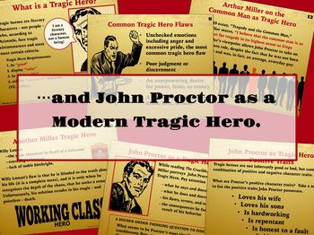 The Crucible Tragic Hero John Proctor