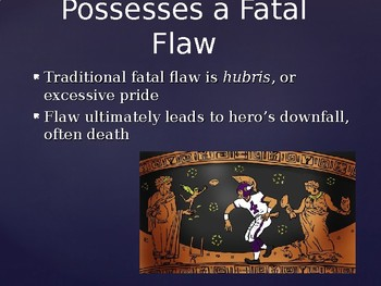 Tragic Hero Traits PPT