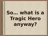Tragic Hero Traits PowerPoint