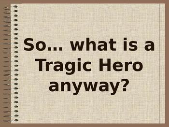Tragic Hero Traits PowerPoint