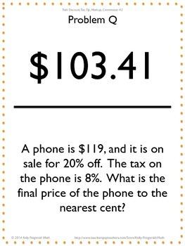 Trail: Discount, Tax, Tip, Markup, Commission #2