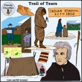 Trail of Tears Clip Art