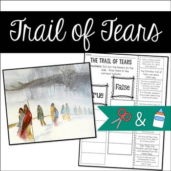 Trail of Tears: Cut and Paste
