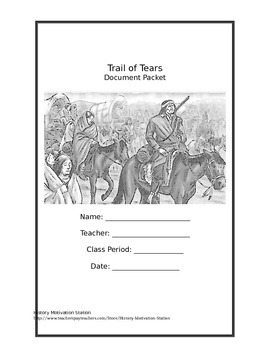Trail of Tears DBQ Document Packet