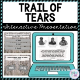 Trail of Tears ESCAPE ROOM:  Indian Removal Act by Andrew Jackson
