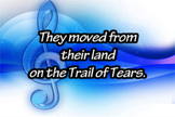 Trail of Tears - Educational Music Video - Song - Lesson Plan