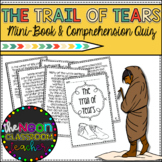The Trail of Tears Mini-Book and Comprehension Quiz