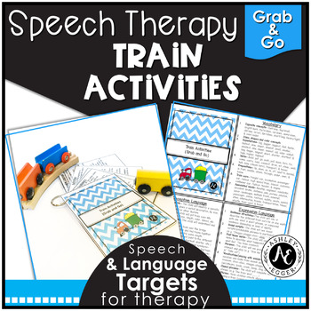 Train Activities - Grab and Go