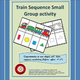 Train Sequence Activity for  Concepts of Before, After, 1st, Middle and Last.