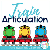 Train Articulation Game: Speech Therapy Activity
