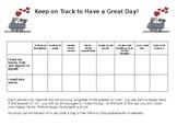 Train Behavior Chart for Elementary Students