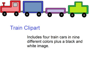 Train Clip Art