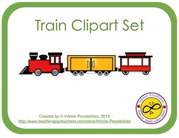 Train Clipart Set
