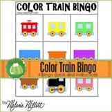 Train Color Bingo Game
