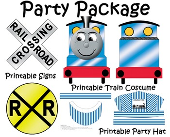 Train Conductor Dramatic Play Printable Package