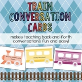 *Distance Learning* Train Conversation Cards