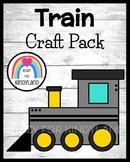 Polar Express Book Companion Craft: Train (Christmas)