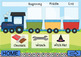 Train Express Articulation (CH/SH Sounds) (Boom Cards) (Teletherapy)