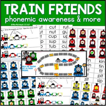 Train Friends Phonemic Awareness & More!