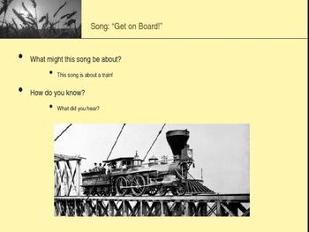 Train Lesson on Tempo and Beat -- COMPANION to Silver Burdette Books