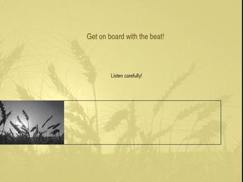 Train Lesson on Tempo and Beat -- COMPANION to Silver Burd