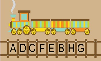 Train Letters and Sight Words