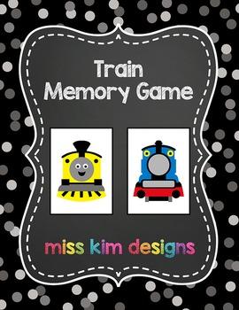 Train Memory Game
