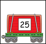 Train Number Cars 1-25