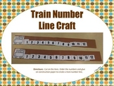 Train Number Line Craft