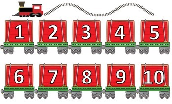 Train Number Matching Game