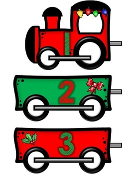 Train Number Order Math-Polar Express