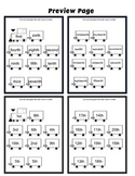 Train Ordinal Numbers Cut Out Worksheets