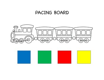 Train Pacing Board