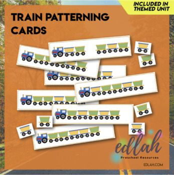 Train Patterning Cards (Full Color Version)