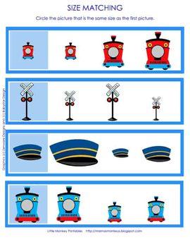 Train Preschool Pack