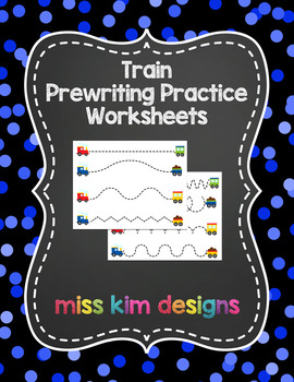 Train Prewriting Worksheets