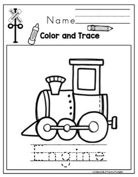 Train Printable
