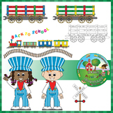 Train Set - Clip Art