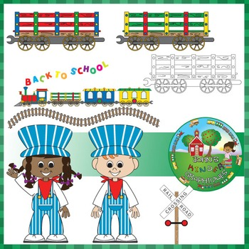 Train Set - Clip Art