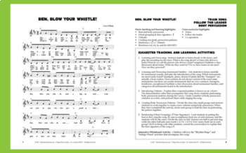 """Train Song & Activity 