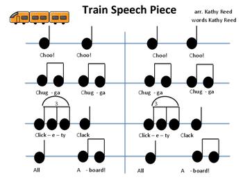 Train Speech Piece