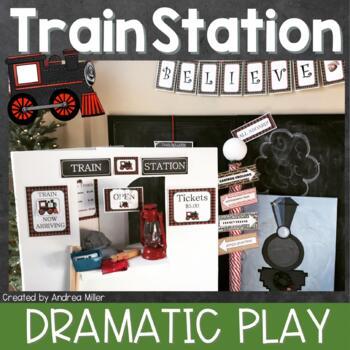 Train Station Dramatic Play