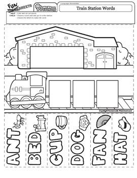 Train Station Words